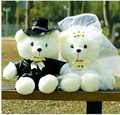 wedding dress bears a pair Couples bears plush toy 38cm doll a6696