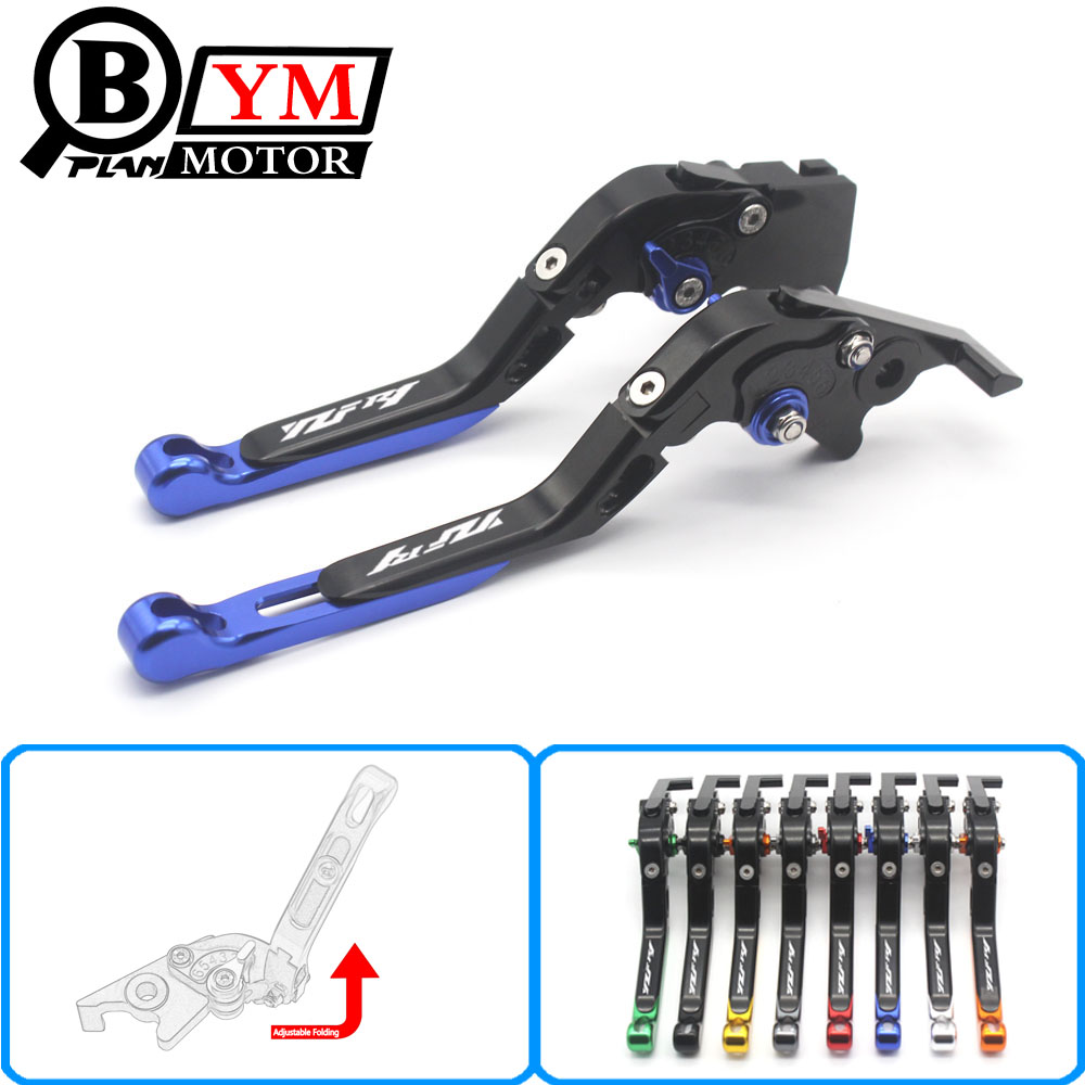 fits For YAMAHA YZF R1 2004 2005 2006 2007 2008 Motorcycle Adjustable Folding Extendable Brake Clutch Levers logo YZF R1 6 colors cnc adjustable motorcycle brake clutch levers for yamaha yzf r6 yzfr6 1999 2004 2005 2016 2017 logo yzf r6 lever