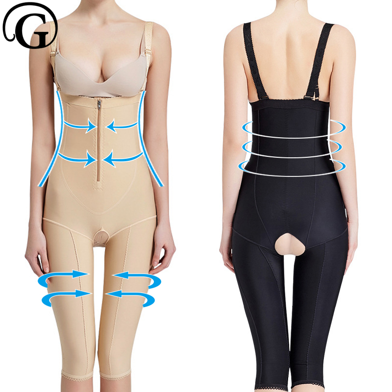 Recovery Body PRAYGER Corrective Shaper Women Lift Up Bras Bodysuits Slimming Thigh Shapewear Full Body Corset