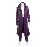 Batman Suicide Squad The Joker Coat Cosplay Costume Stage Performence Clothes , Perfect Custom for You !