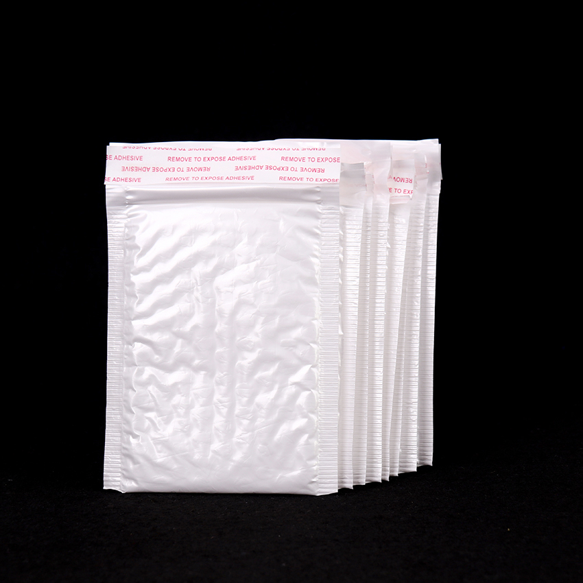 10PCS/lots White Pearl Film Bubble Envelope Pearl Film Envelope Waterproof Packaging Mail Bag Office Business Supplies