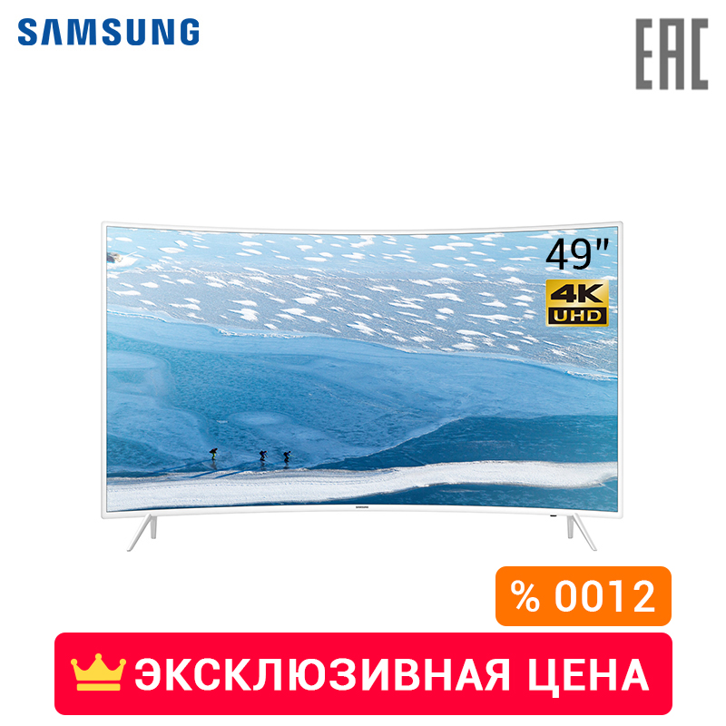 TV LED Samsung 49 UE49KU6510UX 4K UHD SmartTV WiFi Curve 4049InchTv 0012