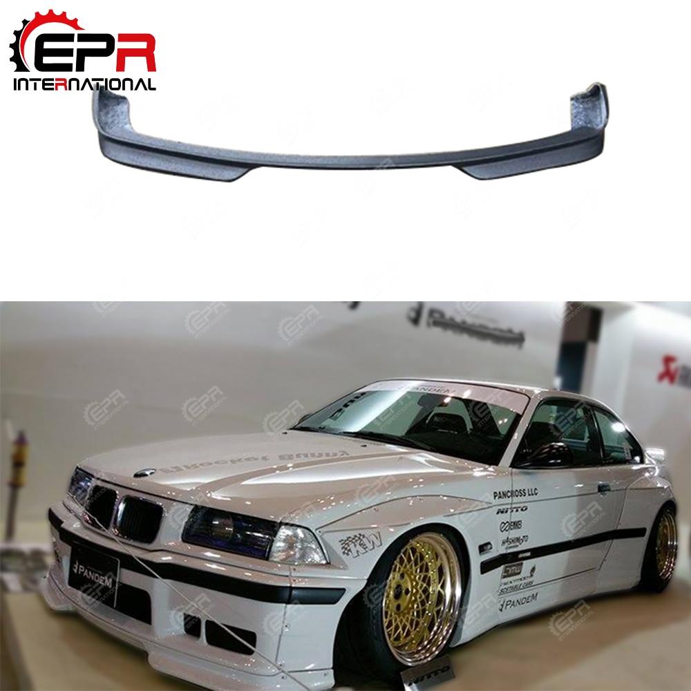 MT Urethane Front Bumper Lip Spoiler Body kits Fit 1992-1998 BMW E36 3-Series