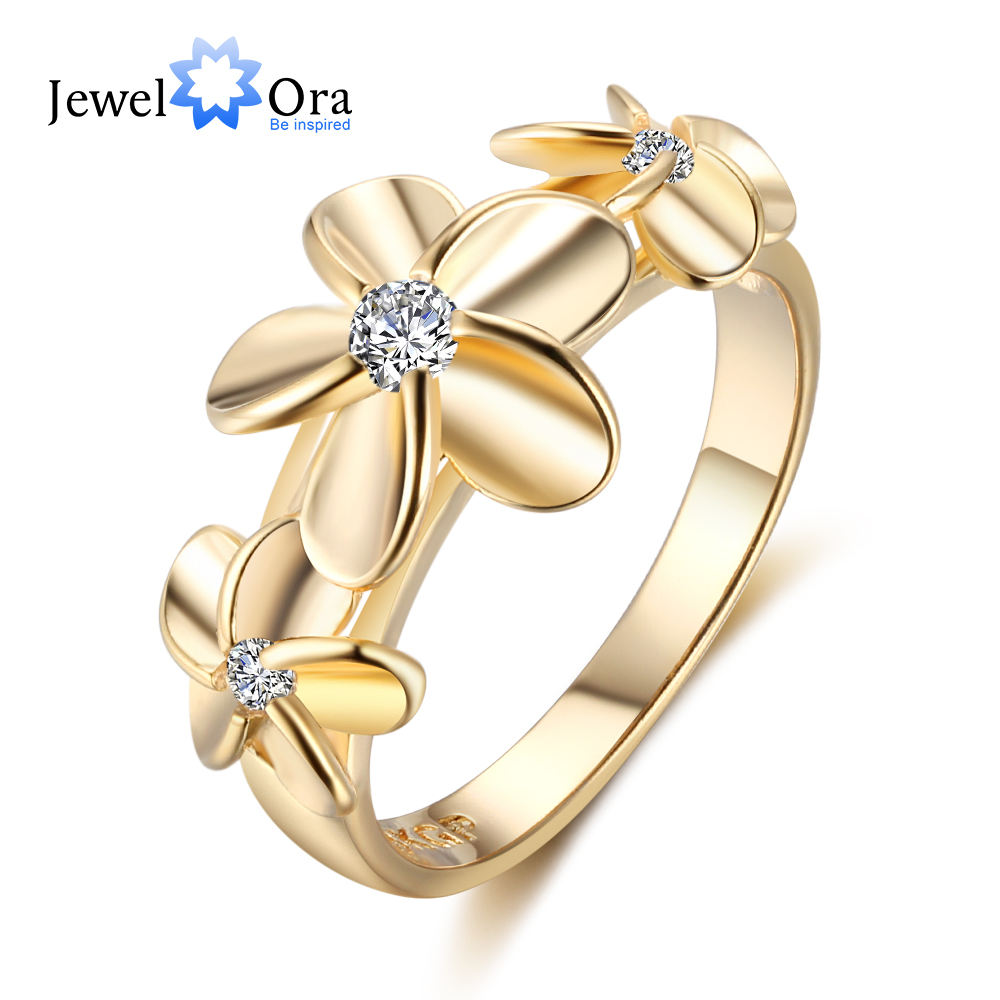 e52f287217ac Detail Feedback Questions about Gold Color Rings For Women Wedding Ring 5 6  7 Size Trendy Ring Female Decoration Carnation Zircon Vintage Mother s Day  Gift ...