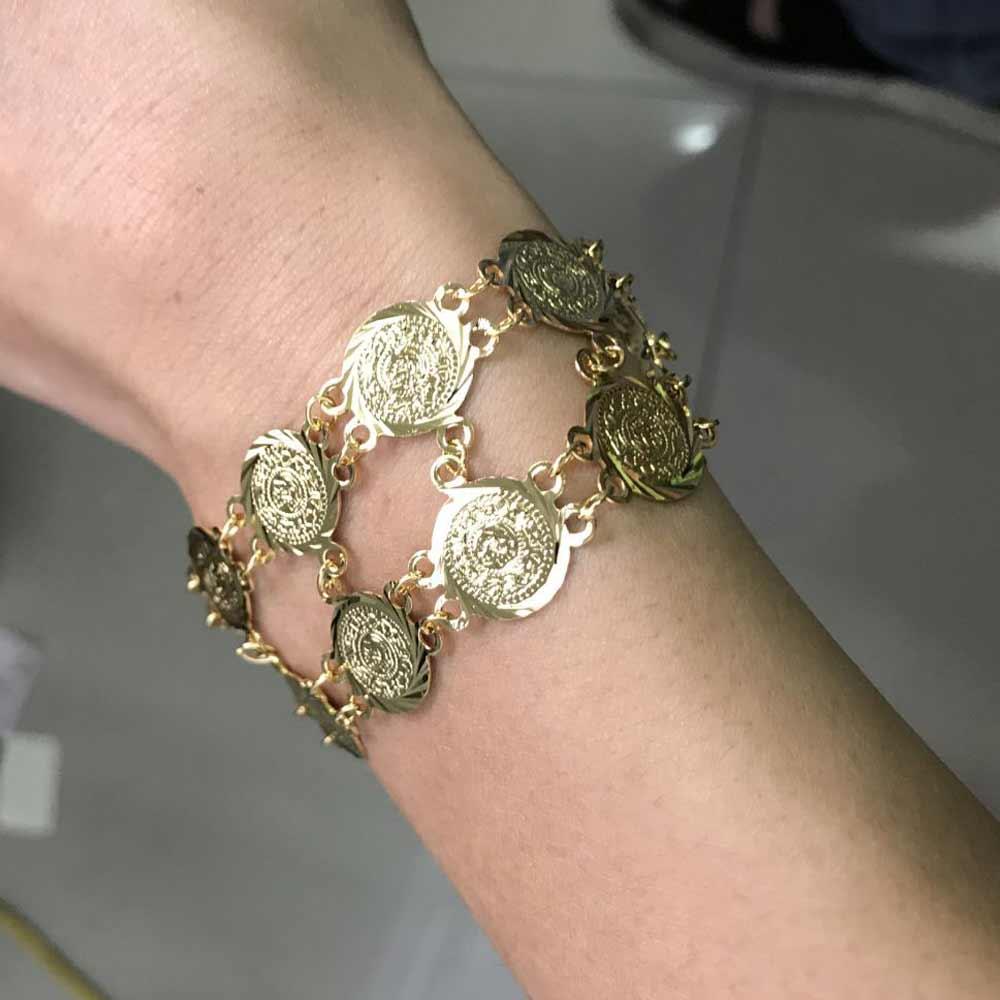 zkd  islam copper muslim Arab Ancient Coin  Turkey Coins Arab Coins  bracelets bangles