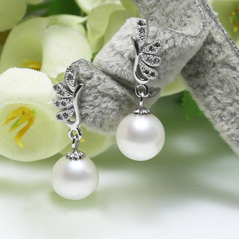 7a9f808e9658 Peacock Design Bridal Pearl Earrings