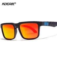 KDEAM Helm Men Sunglasses Polarized Steampunk Goggles Anti-Reflective Sun Glasses Women sonnenbrille lunette de soleil CE KD901