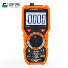 Fujiwara Multimeter Hoge Precisie Digitale Display Multifunctionele Tafel Anti-Brandende Grote Capaciteit Ampèremeter