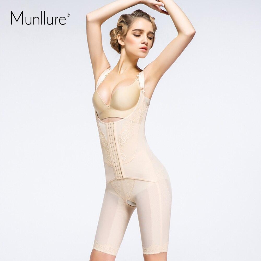 FeelinGirl Womens Bodice Body Shaperwear Corset Slim Bodysuit Bodice Trousers Top