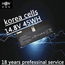 battery for HP envy 6-1000 replaces 685866-1B1 685989-001 HD04XL black Li-Polymer 14.8V 45WH batteria akku