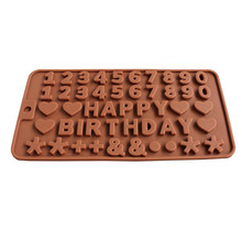 Dropshipping Silicone Gel Non-stick Chocolate Jelly and Candy Mold Cak
