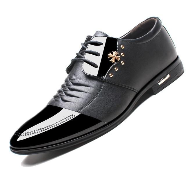 98a67e79d29 Noopula Mens Designer Shoes Oxford Shoes Men Flat Luxury Mens Casual  Designer 2017 New Brand Leather Shoe Dress Shoes Loafers
