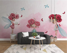 beibehang Custom stereo papel de parede 3d wallpaper modern minimalistic abstract watercolor smoke lines rose TV background beibehang custom modern modern minimalistic abstract lines geometric classic background papel de parede wall papers home decor