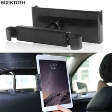 BGEKTOTH 360 degree Car Back Seat Headrest Mount Holder Stand For 8-10inch Tablet ipad Tab GPS