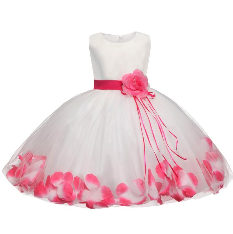 Aliexpress.com : Buy Flower Baby Girl Baptism Dress For ...