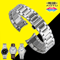 AUTO Stainless Steel Strap 20mm Curved End Metal Bracelet Watch Band for Longines L2 MASTER COLLECTION +Free TOOLS