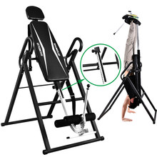 High Quality Safer Integrated Fitness Equipment Inversion Table Back Stretcher Machine for Pain Relief Therapy Height Adjustable(China)