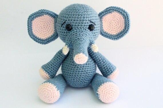 Elefante amigurumi PARTE I - YouTube | 380x570