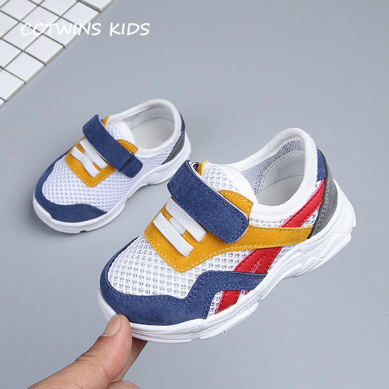 CCTWINS KIDS 2018 Summer Baby Boy Genuine Leather Casual Shoe Children Fashion First Walker Girl Brand Breathable Flat FW026