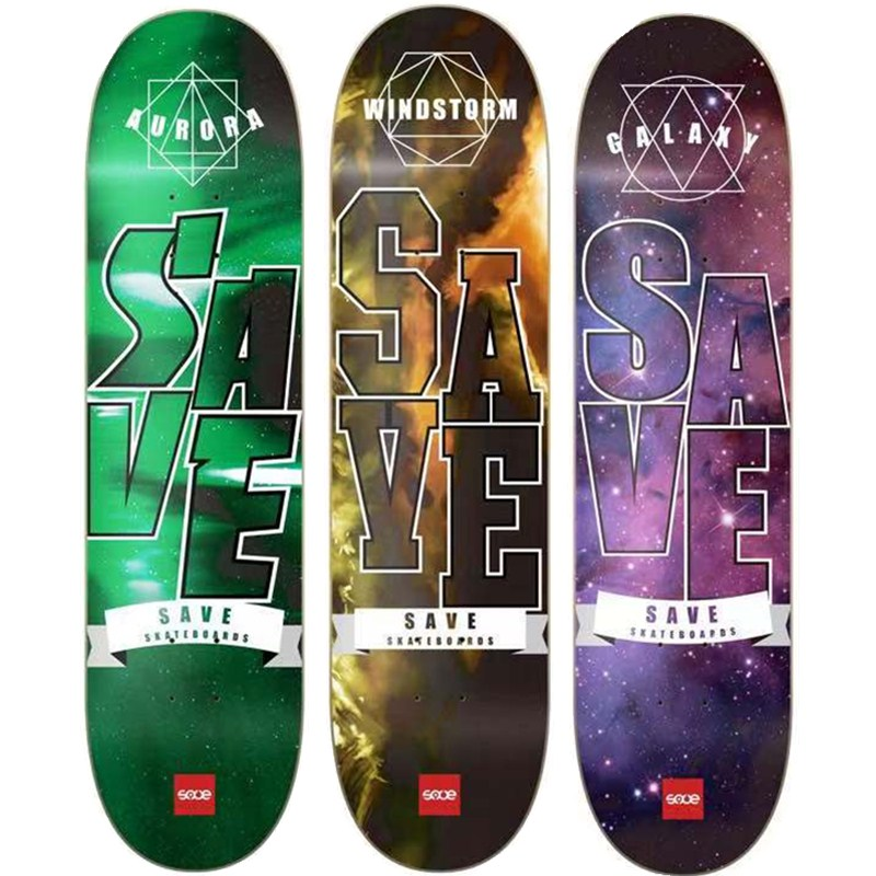 1PC PRO Lasest Graphic design 8 inch Skateboard Deck 7 Layers Full Canadian Maple Skate Board Deck For DIY skaters Pro Skaters