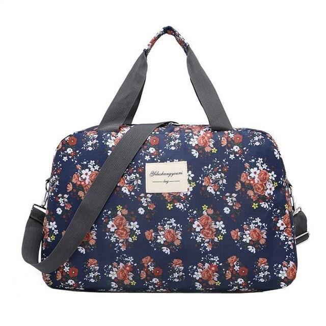 95be338307 LHLYSGS Brand Women Fashion Waterproof Shoulder Bags Large Capacity  Sportsing Travel Bag Hand Luggage Bag Travel