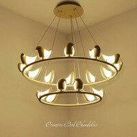 Modern Bird Chandelier Ceiling Suspension Lighting Fixture For Living Room Dining Room Bedroom Nordic Hanging Lamp Chandelier