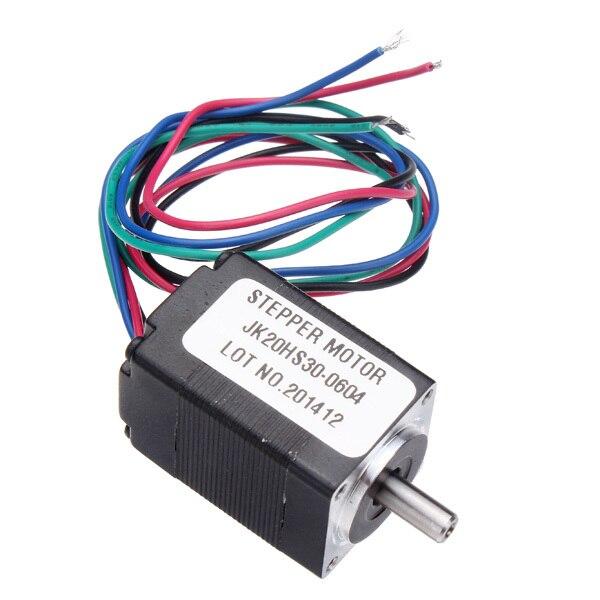 NEMA 8 1.8 Độ 20 Lai Động Cơ Bước 2 Pha 30 Mm Động Cơ Cho CNC Cối Xay Router
