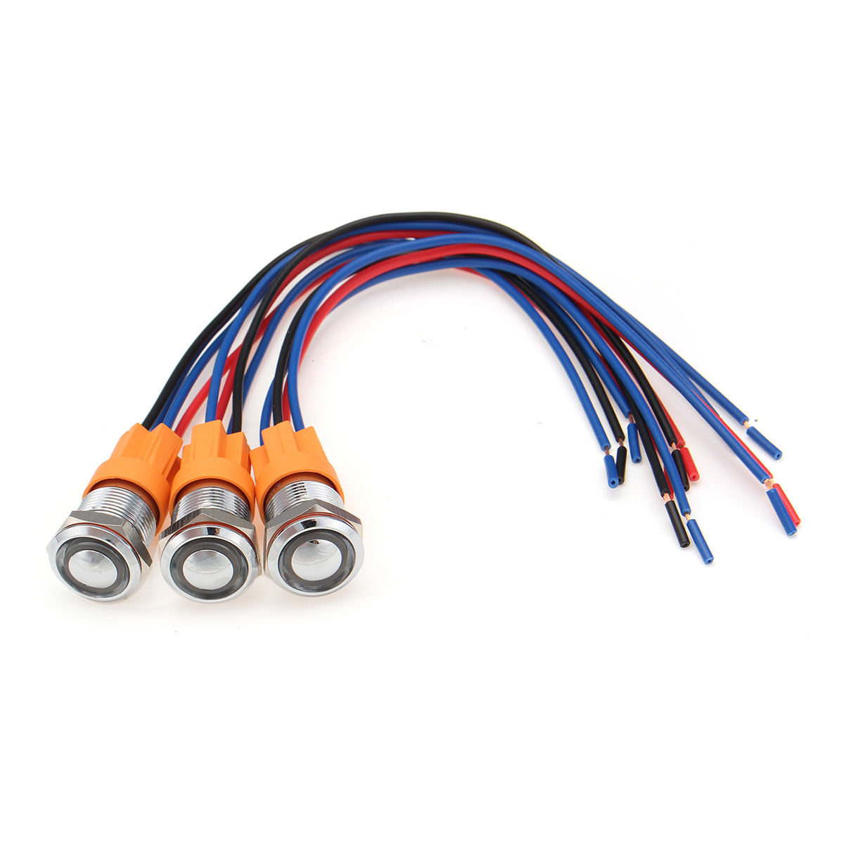 12v 24v 4pin Self Locking Switch 12mm Metal On Off Led Push Button Diagram Wiring Harness Waterproof In Switches From Lights Lighting