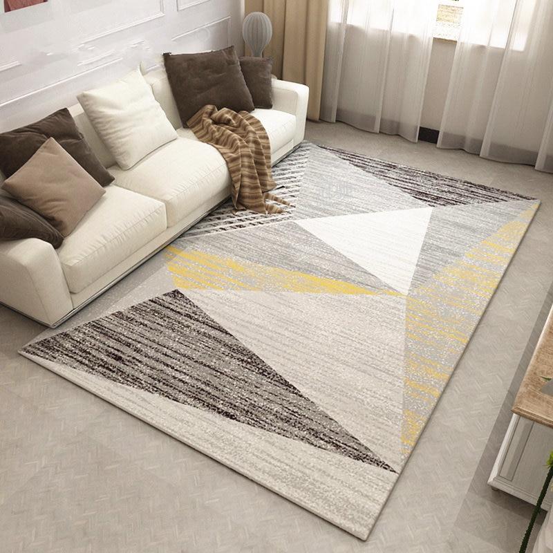 Современный американский ковер для Гостиная простой ковры и ковры для дома Спальня исследование коврик диван Кофе Таблица ковры ковер