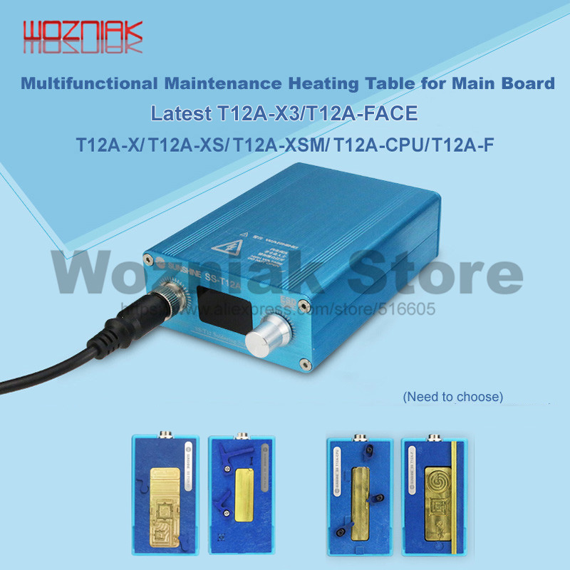 Wozniak For IPhone X Mainboard  Stratified Heating Table 185 Degrees Accurate Rapid Separation Disassembly Platform SS-T12A