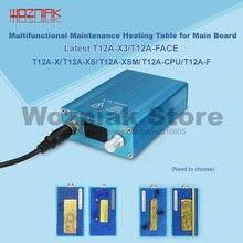 Wozniak para o iphone x mainboard estratificada mesa de aquecimento 185 graus preciso separação rápida desmontagem plataforma SS T12A