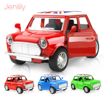 Toy Car 1:36 Alloy Car Pull Back Diecast Metal Model with Music Light oyuncak Car Toys Gift for Children Boy 3 Colors