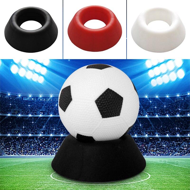 Пластиковые Футбольные Мячи поддержка регби для хранения футбола стойка спортивная футбольная база для спортивного оборудования шариковая композиция