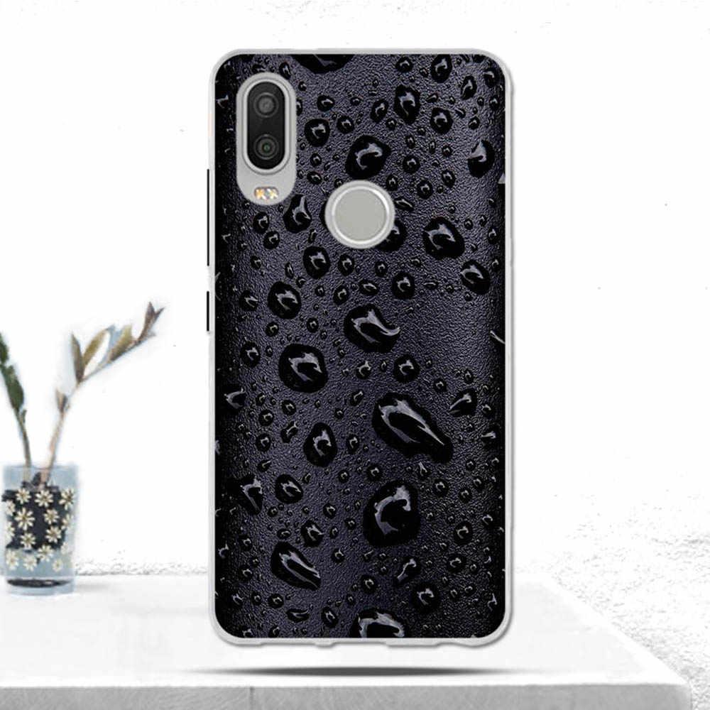 Fashion untuk BQ Aquaris X2/X2 Pro Case Cover Lembut TPU Silicon Mewah Ponsel Case untuk BQ Aquaris X2 /X2 Pro Coque Cover Fundas