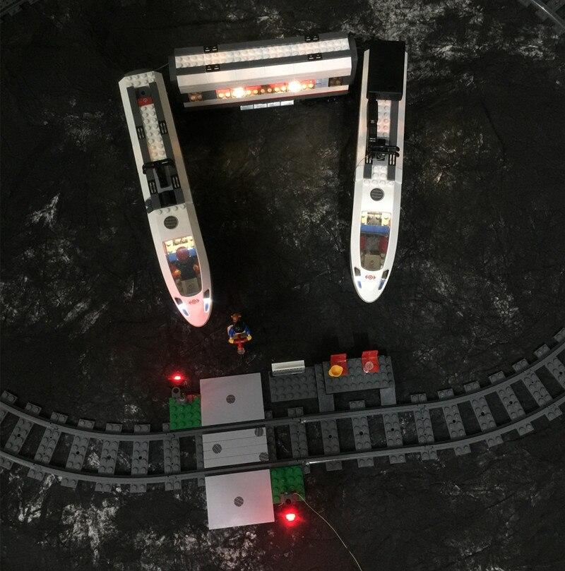 Led Licht Kit Für Züge High-speed Passenger Modell Beleuchtung Set Kompatibel Mit Lego 60051