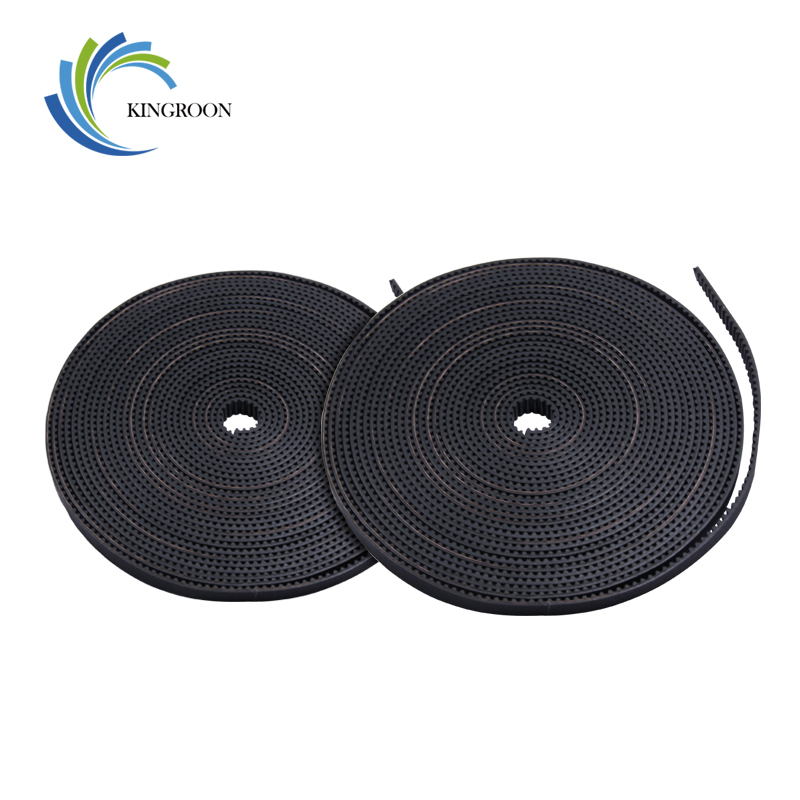 KINGROON 2M 5M 10M 50M GT2 Belt Width 6mm Open Timing Belt For 3D Printer GT2-6mm Belt Synchronous 2GT Belt 3D Printer Part