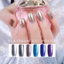 AILIKA 2019 New Platinum Gel Polish Nails Art For Manicure Poly Gel UV Colors Primer Base Set Gel Hybrid Varnish Nail Gel Polish uv nails mood changing gel polish colors set of 6 limited edition 6md 3