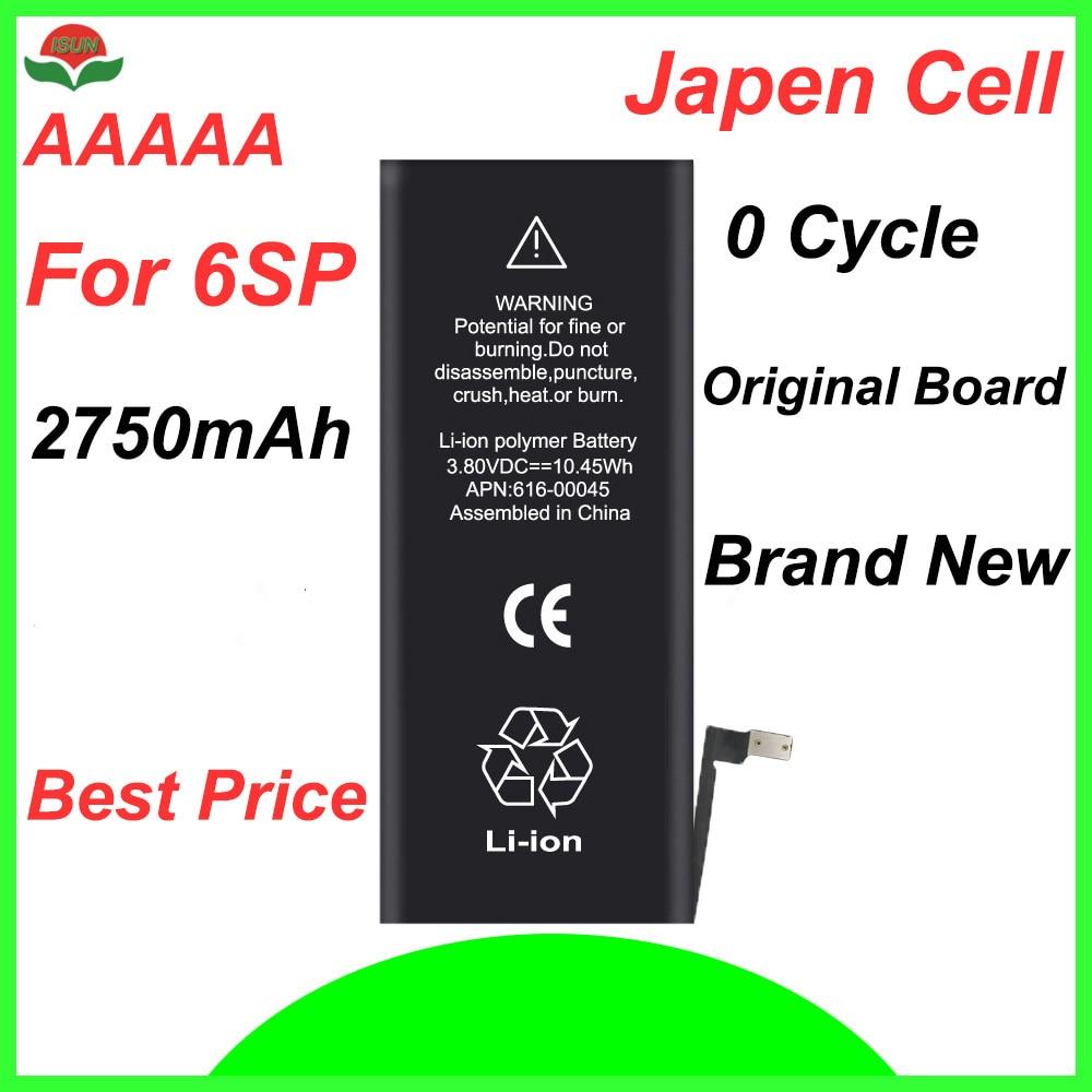 ISUN original cell phone battery for iPhone 6SPlus 2750mAh replacement repair
