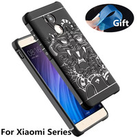 Luxury Phone Case For Xiaomi Redmi 4 4Pro High Quality Soft Silicone Protective Back Cover Cases