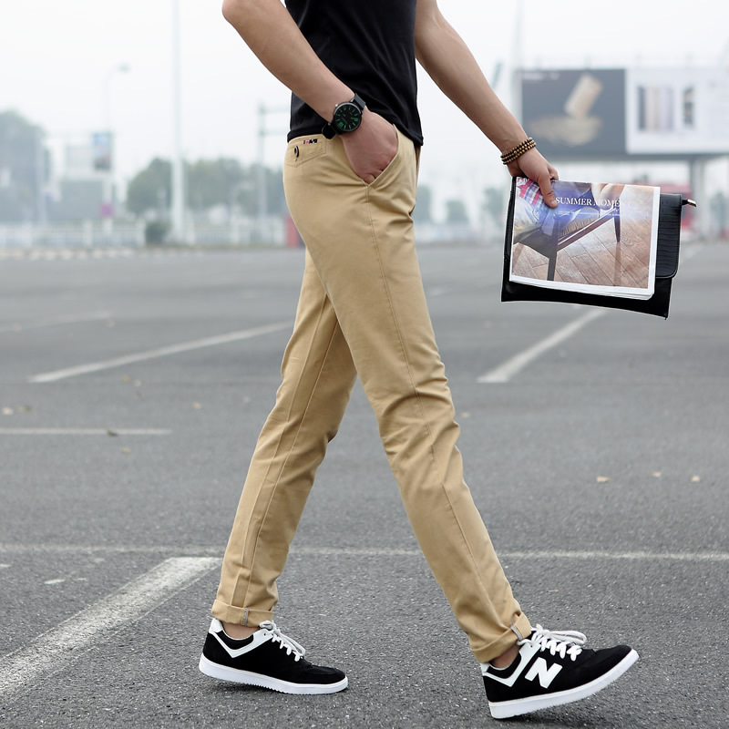 Popular Cotton Twill Slim Fit Chino Pants-Buy Cheap Cotton Twill ...