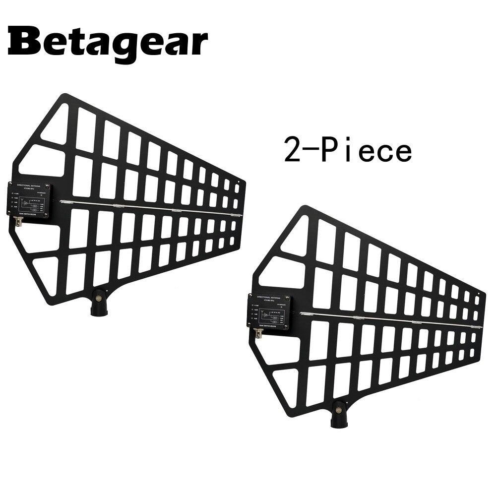 Antenne directionnelle Active Betagear UA874 antenne sans fil UHF US Amp intégré (470-950 MHz) pour microphone sans fil uhf