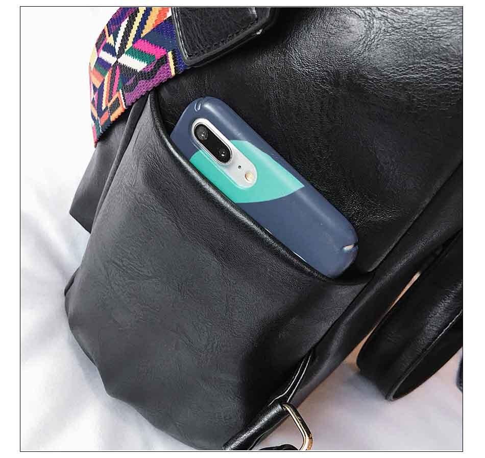 HTB1b DqnMDD8KJjy0Fdq6AjvXXat Leather Backpack Women 2019 Students School Bag Large Backpacks Multifunction Travel Bags Mochila Pink Vintage Back Pack XA529H