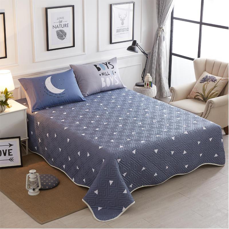 100% Katoen Twin Volledige Koningin Sprei/zomer Deken Dekbed Katoen Bed Cover Dessus De Lit Colchas 180x200 Cm 245x220 Cm