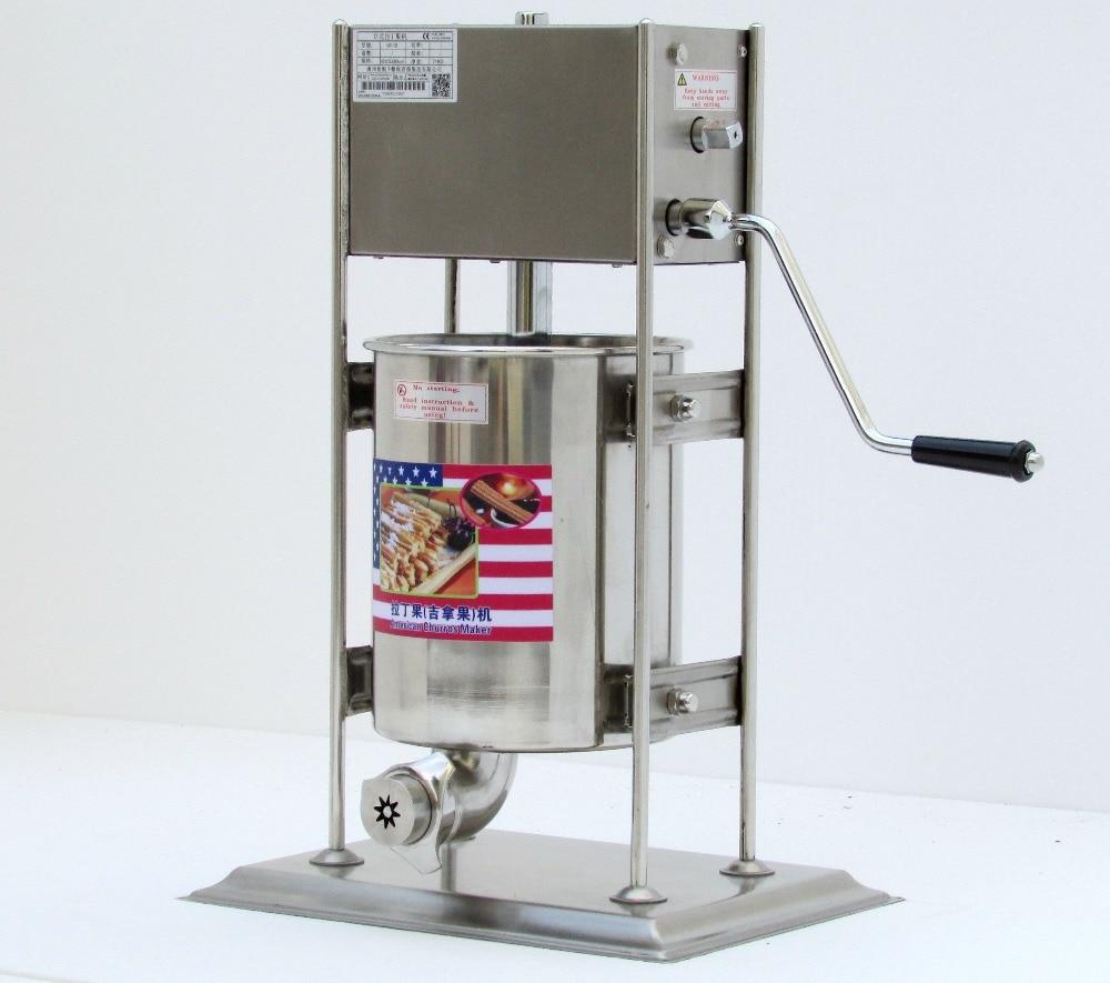 12л машина для изготовления черросов из нержавеющей стали, ручная Коммерческая испанская машина для производства масляных лент, коммерческ