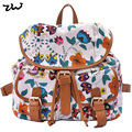 New White Color Canvas Matrial Top Quality Butterfly Backpack School Backpacks Rushcack QQ1626