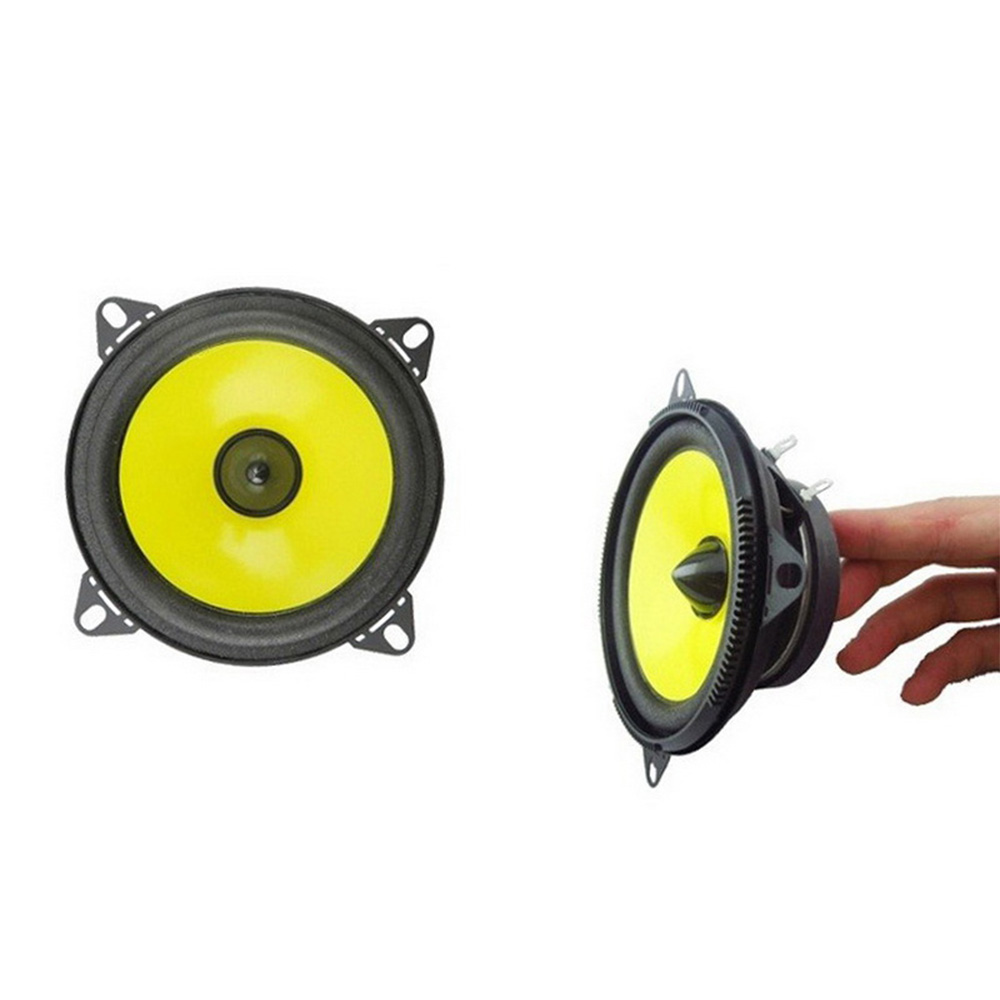 4 Inch Full Frequency Auto Car Speaker Range Horn Stereo Speakers Audio 2x80w 2pcs