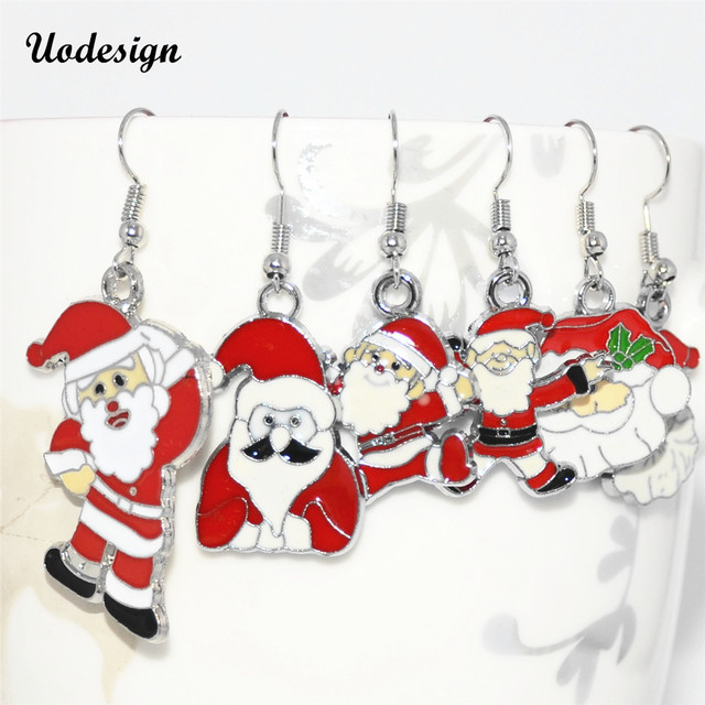 Womens Christmas Gifts.Us 2 79 16 Off Uodesignnew Arrival Cute Christmas Earrings Santa Snowman Christmas Earring Christmas Gifts For Womens Ladys Drop Earrings In Drop
