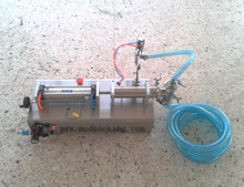 300-2500ml Single Head Liquid Softdrink Pneumatic Filling Machine YS-110V GRIND