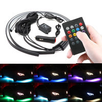 60 90 120 Remote Control Car LED Under Glow Underbody IP67 Waterproof Tube Underbody System Neon Light