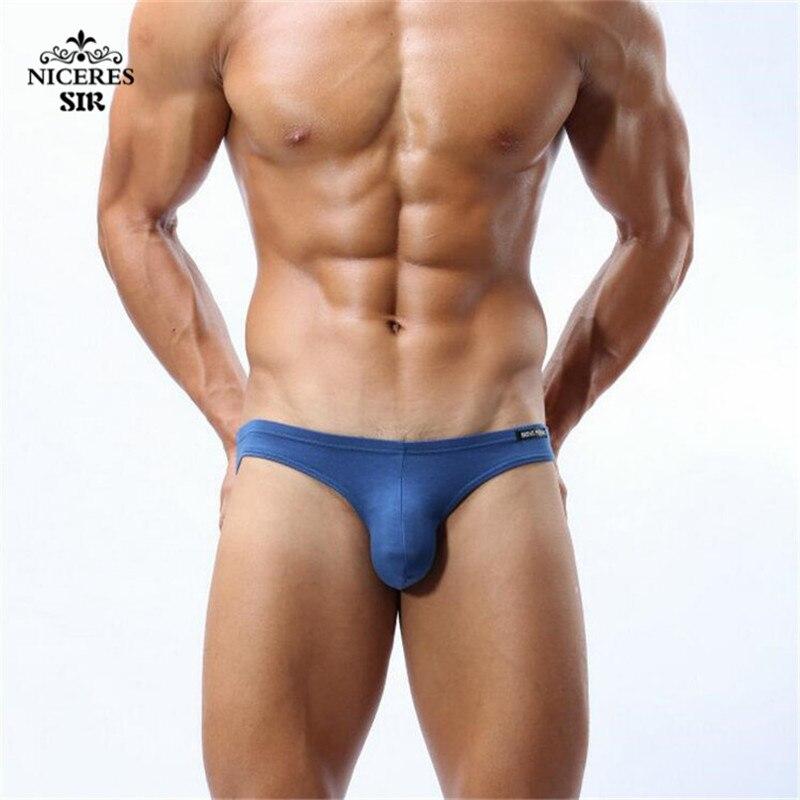 Hot Mens Sexy Modal Underwear BRAVE PERSON Briefs Men Low Rise U convex Pouch Brief Underwear Men Stretch Breathable Briefs 1112